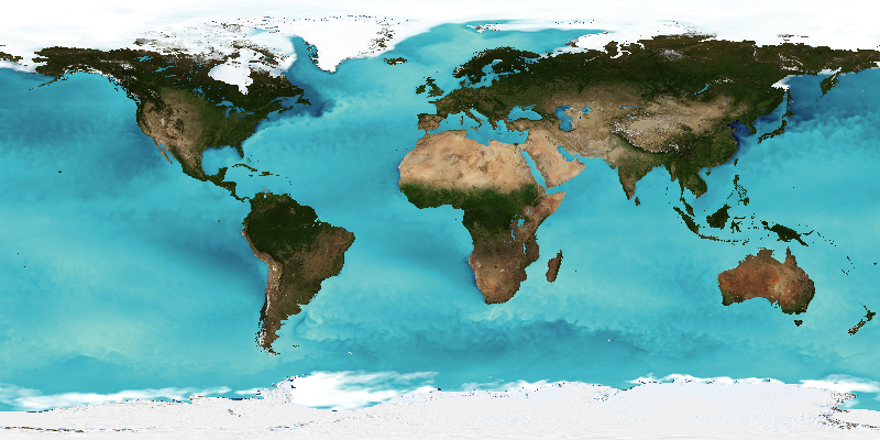 Global sea-surface temperature created by EDAL libraries